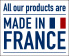 All our products are Made in France